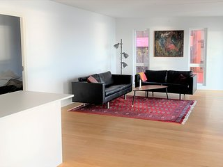 Bright 2-bedroom apartment in Copenhagen Nordhavn with a fantastic view