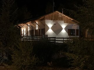 Self catering holiday chalet for up to 10 persons