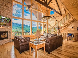 Star Dancer Cabin - Best Mtn Views In The Smokies Hot Tub Arcade Theater PRIVATE