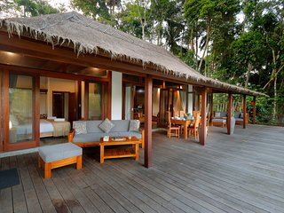 Jungle Wooden Villa, 3 BR, Ubud, Monthly 20 JT/ Weekly 5 JT (BIG PROMO)