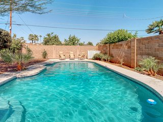 Old Town Scottsdale home newly renovated w/ private pool, enclosed yard, dogs ok