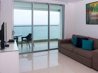 Modern Beachfront One Bedroom Condo