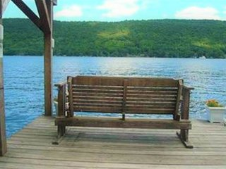 Lakefront cottage with multiple decks and a private dock with a boat lift!