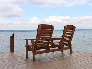 Lakefront duplex w/ a balcony & boat dock on the Seneca Lake Wine Trail