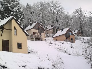 Chalet Duplex Abordable dans les Pyrenees | Linge de Lit Inclus!