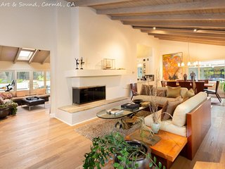 Secluded Carmel Five bedroom home!