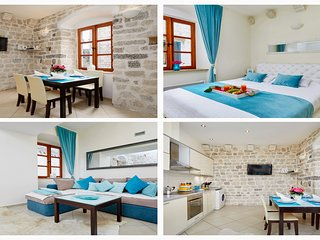 ♥ La Dolce Vita Ⅰ - Old Town Kotor Luxury 1bdr 50% discount ideal  freelance hub
