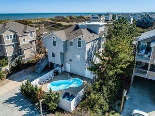 Pelican's Perch | 320 ft from the beach | Private Pool, Hot Tub | Corolla
