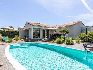Vendee Villa Acacia  6P private heatable pool