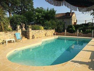 Duplex avec piscine au ceour des vignes