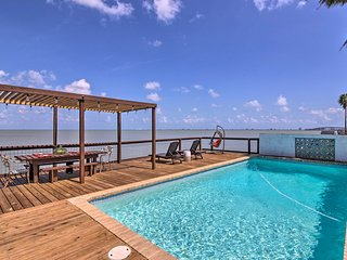 Waterfront Port Isabel Family Home w/ Pool & Pier!