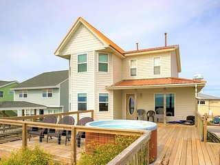 S. Shore Drive 204 Oceanfront! | Hot Tub, Internet