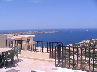 Two bedroom penthouse sea and valley views D