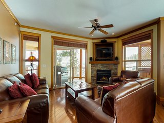 Ski-in/out from this beautifully decorated alpine lodge w/ private hot tub