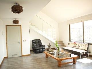Luminoso Loft ultmo piso con jacuzzi