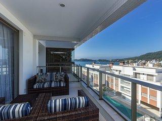 Incrível Vista para o Mar Apto 4 dorms 10 pessoas - Fabuloso Condomínio de Luxo
