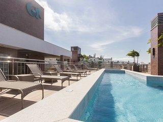 Amplo Apto 3 dorms 8 pessoas - Piscina no Rooftop - Porto Madero