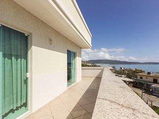 Cobertura com Espetacular Vista para o Mar - Suite com Banheira 3 dorms 7 pessoa
