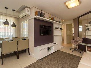 Confortavel Apto 3 dorms 6 pessoas - Condominio com Piscina Climatizada - Boulev