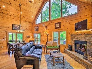 Murphy Mountain Home; Game Room, Porch, Views