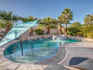 ★Luxury Desert Oasis w/ private saltwater pool/spa★