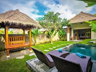 Siraman Dedari with Private Pool & Rice Field View