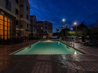 Outdoor Pool + Short Drive to the Beach | Minutes from Shopping