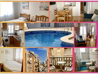 Beautifull apartment in La Playa del Cura, Torrevieja. 150 from the beach