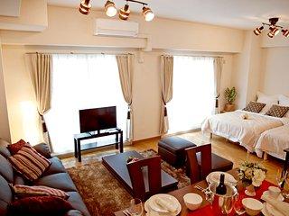 【Nipponbashi House H01】Best location 8ppl♪ Dotonbori, Nippombashi, Namba