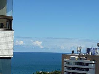 Cobertura vista mar no circuito do carnaval Ondina, perto do Farol da Barra e p