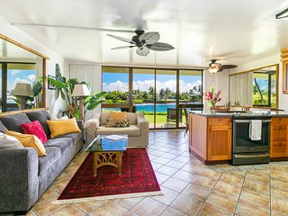 Kuhio Shores, Poipu-Oceanfront Beauty