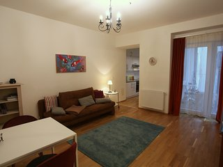 Central and quiet apartment with balcony at the Augarten