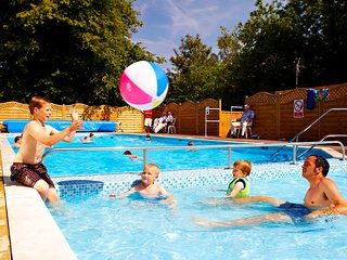 Beauport holiday park in Hastings East Sussex - Bluebell retreat