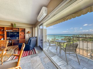 Waikiki oceanfront condo w/parking included - city, ocean and fireworks views!