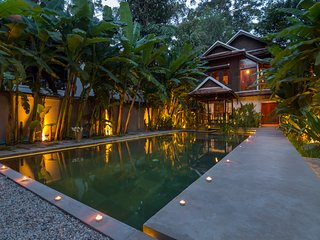 Wat Po House , Siem Reap private pool villa
