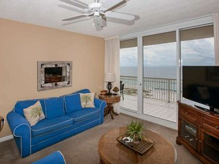 Gulf-Front 3 BR Condo, Views, Sleeps 8, W/D, Pool/Fit Ctr/Arcade, Free Activitie