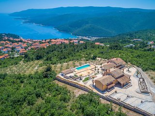 Awesome home in Rabac w/ Outdoor swimming pool, Sauna and 8 Bedrooms