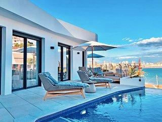 Luxurioses Apartment mit eigenem Pool direkt am Poniente Beach