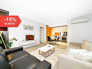 A Cozy 2BR Suite + Large Balcony at Southern Cross