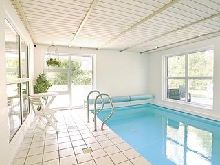 Beautiful home in Graested w/ Sauna, WiFi and Indoor swimming pool
