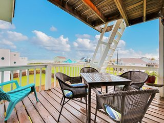 Dog-friendly, seaside home w/ multiple balconies - steps from the beach!