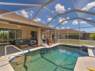 NEW-Home w/ Pvt Pool + Gas Grill, 6 Mi to Beaches!