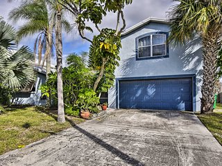 Waterfront Family Home - 8 Mi to Cocoa Beach
