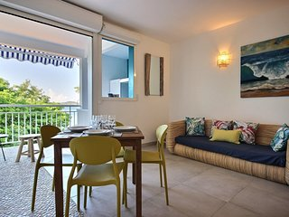 Mer Corail : Appartement design 2 chambres vue mer et acces mer