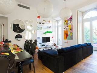 Family friendly 3-bed home w/ free parking&view, in Chiado