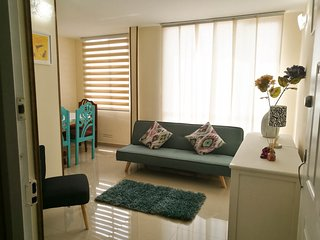 Apartment In Bogota´s Savannah with Parking and Wifi Up to 6 (in Tocancipa)