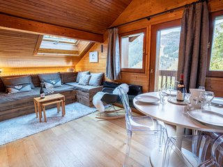 Cosy ski-in ski-out apartment 4pers