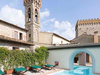 San Donato in Collina Villa Sleeps 12 with Pool and WiFi