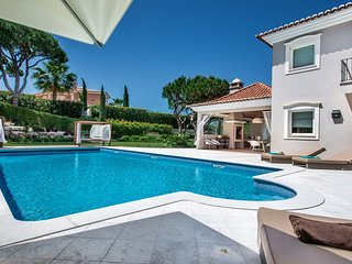 Quinta do Lago Villa Sleeps 10 with Pool Air Con and WiFi - 5718971
