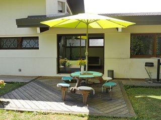 Gîte proche Thonon, T3, terrasse, jardin